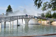 Dorney park w Allentown, Pennsylwania Zdjęcia Royalty Free