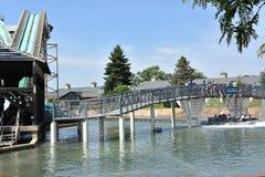 Dorney park w Allentown, Pennsylwania Fotografia Royalty Free