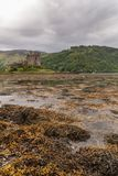 Eilean Donan Castle from across the loch, Scotland. Stock Photos