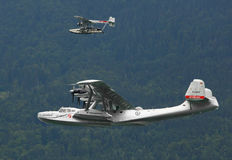 The Dornier Do.24 and Sikorski S-38. Stock Images