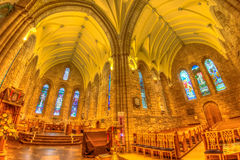 Dornoch Cathedral Scottish Highlands Stock Image