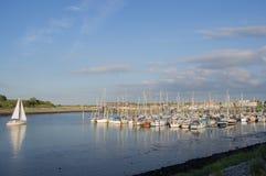 Dornumersiel-Hafen Stockfoto
