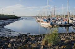 Dornumersiel-Hafen Lizenzfreies Stockbild