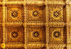 Doro d'or du plafond Ca, Venise, Italie Images libres de droits