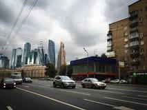 Doroginilovskaya street, Moscow, Russia Royalty Free Stock Photos