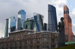 Dorogomilovskaya Zastava Square, Moscow, Russian federal city, Russian Federation, Russia Stock Photo