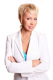 dorosła piękna biznesowa kobieta Zdjęcie Stock