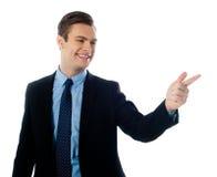 dorosły biznesowy wykonawczy męski kostium Fotografia Royalty Free