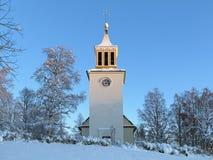Free Dorotea Church In Winter, Sweden Stock Photo - 28902720