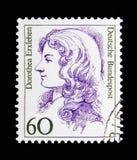 Dorothea Erxleben (1715-1762), arts, Vrouwen in Duitse Geschiedenis s Royalty-vrije Stock Fotografie