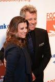 Dorothea Hurley, Jon Bon Jovi imágenes de archivo libres de regalías