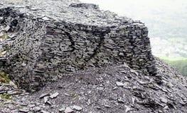 Dorothea Quarry em Gales norte fotos de stock
