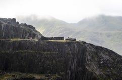 Dorothea Quarry in Wales royalty-vrije stock foto