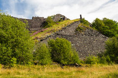 Dorothea slate quarry Royalty Free Stock Image