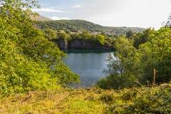 Dorothea slate quarry Stock Photos