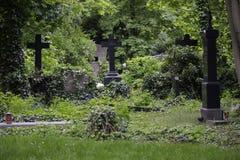 Dorotheenstaedtischer Friedhof (begraafplaats), Berlijn Stock Afbeelding