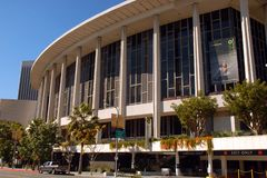 Dorothy Chandler Auditorium royaltyfria bilder