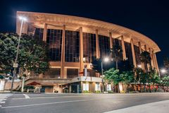 Dorothy Chandler Pavilion. Part of the Los Angeles Music Center located in Los Angeles, California (USA Stock Photos