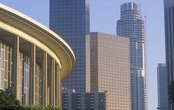 Dorothy Chandler Pavilion i staden av Los Angeles, Kalifornien royaltyfria foton