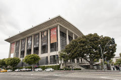 Dorothy Chandler Pavilion in Los Angeles. LOS ANGELES, USA - MAY 2015 Dorothy Chandler Pavilion in Los Angeles Royalty Free Stock Image