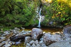 Dorothy Falls, Nieuw Zeeland royalty-vrije stock afbeeldingen