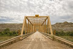 Dorothy Ferry Bridge Landscape imagens de stock royalty free