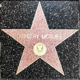 Dorothy Mcguires star on Hollywood Walk of Fame Royalty Free Stock Image
