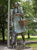 Dorothy. This picture is of Dorthy from the Wizard of Oz.  It was taken at Oz Park in Chicago, Illinois.  The park Frank Baum who at one time lived in the Stock Images