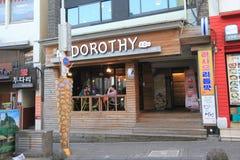 Dorothy restaurant in Jeju Stock Photos