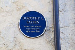 Dorothy Sayers Stock Photography