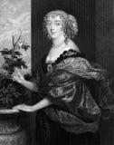 Dorothy Spencer, condessa de Sunderland Imagem de Stock