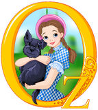 Dorothy and Toto Royalty Free Stock Photos