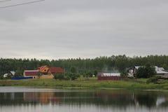 dorp stock afbeeldingen
