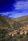 Dorp 2 van Berber stock afbeeldingen