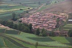 dorp Royalty-vrije Stock Fotografie