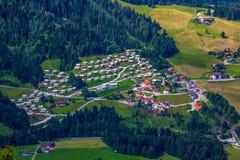 dorp Stock Afbeelding
