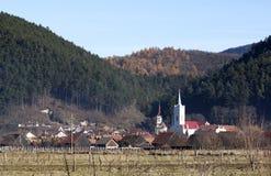 dorp Royalty-vrije Stock Foto