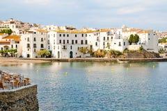 Dorp Cadaques, Spanje Royalty-vrije Stock Fotografie