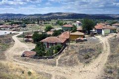 Dorp in centraal Anatolië stock foto