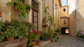 Dorp in de Provence stock foto