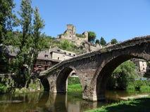 Dorp in de Tarn Frankrijk royalty-vrije stock afbeeldingen