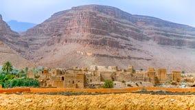 Dorp dichtbij Ouarzazate, Marokko royalty-vrije stock fotografie