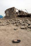Dorp na Aardbeving Stock Fotografie
