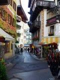 Dorp in Oostenrijk royalty-vrije stock afbeelding