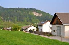 Dorp in Oostenrijk Royalty-vrije Stock Afbeeldingen