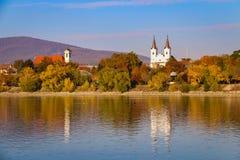 Dorp op Donau Royalty-vrije Stock Foto's
