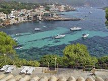 Dorp Santelmo, Mallorca, Spanje royalty-vrije stock foto's