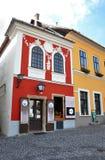 Dorp Szentendre in Hongarije stock afbeeldingen