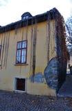 Dorp Szentendre in Hongarije stock foto's