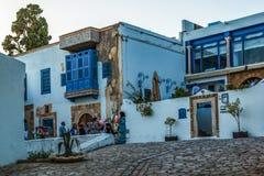 Dorp in Tunesië royalty-vrije stock fotografie